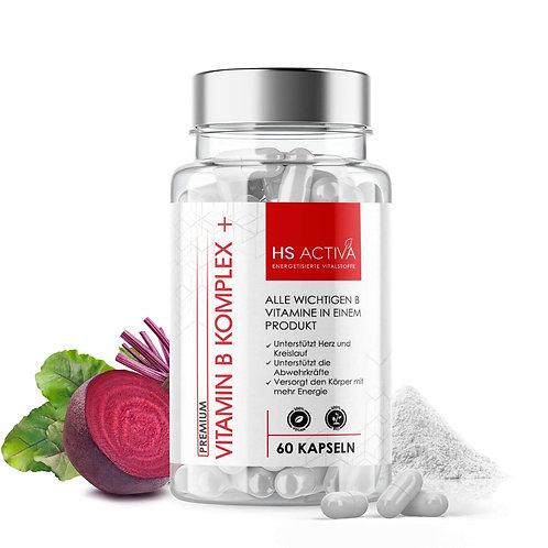 Vital Spezial Plus - Vitamin B Komplex + (60 oder 250 Kapseln)