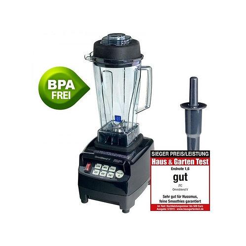 OMNIBLEND V TM-800 SCHWARZ / WEIß / ROT 2 L STANDMIXER BPA-FREI