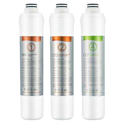 Filter-Set für die Osmoseanlage Aqua Vita