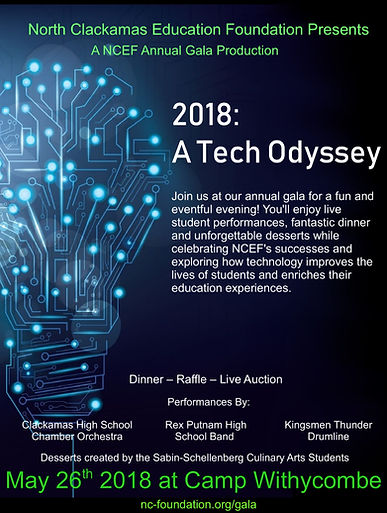NCEF's 2018 gala at Camp Withycombe