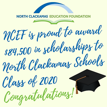 Scholarships for North Clackamas students
