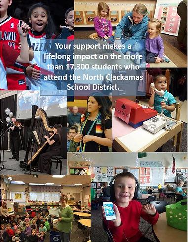 How We Support North Clackamas Schools