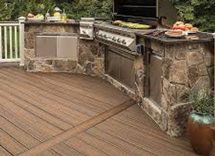 Spiced Rum Trex Decking 4.88m