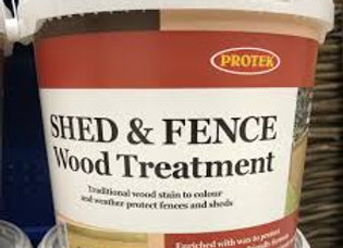 Protek Shed & Fence Pale Green 5ltr