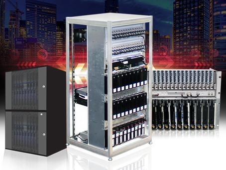 Racks Integradores Eletrostamp, a melhor solução para Sistemas Coletivos de TVs