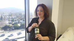 Rebecca Metz from Shameless & The Thundermans & NipTuck - Enjoying Veau Water