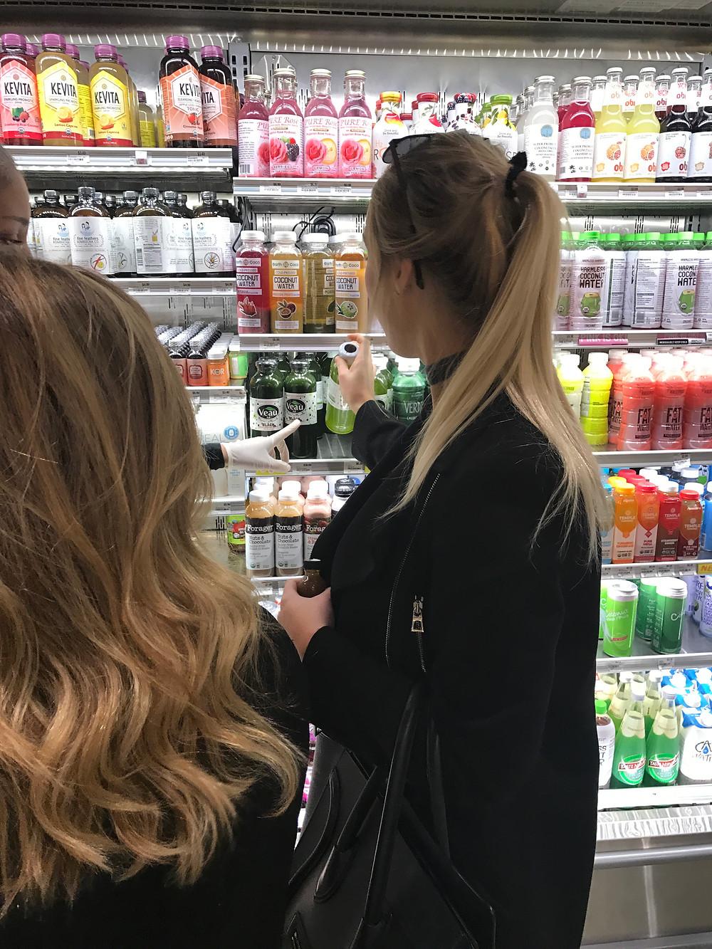 Erewhon Store Customers Buying Veau Water