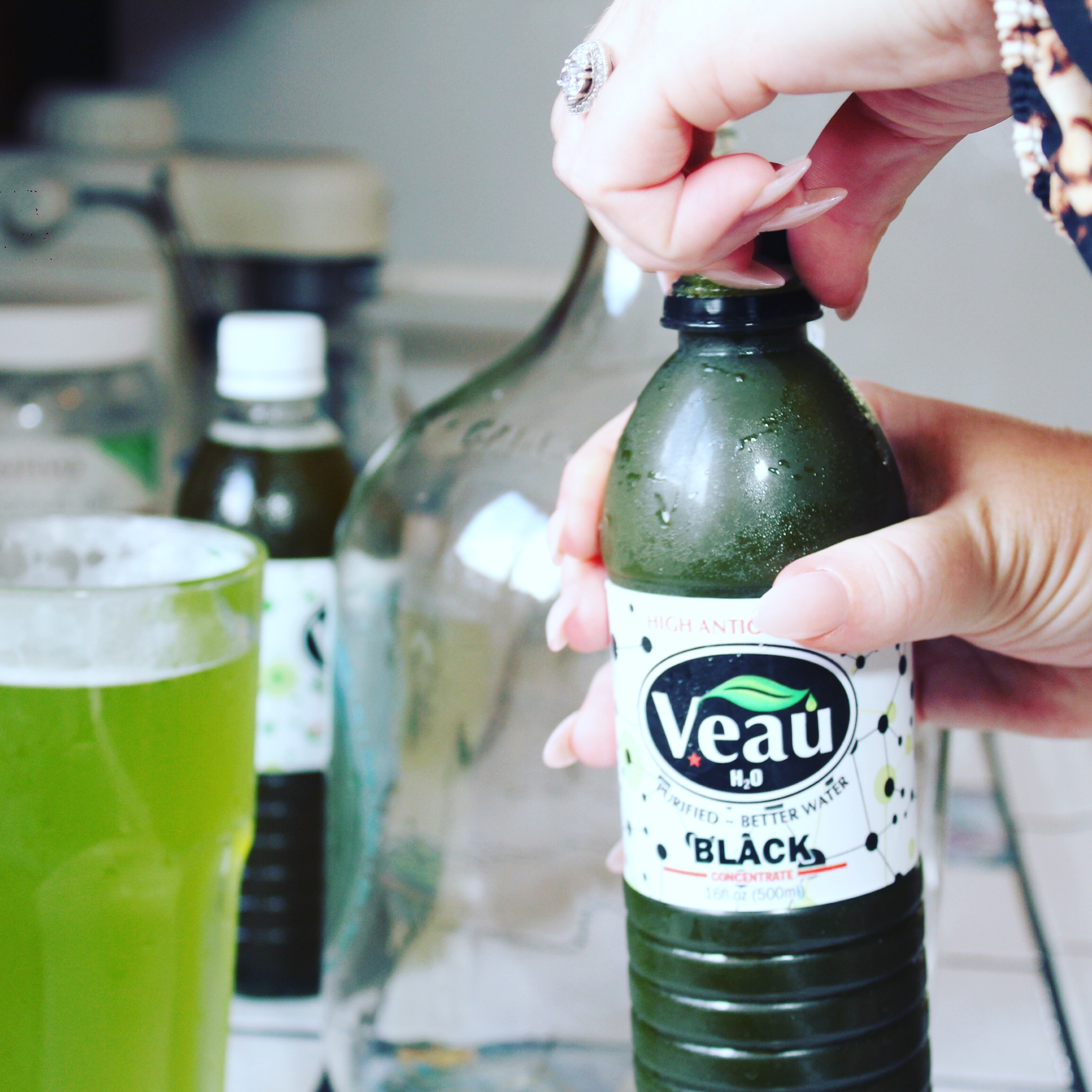 Veau Water - Healthy Green Drink