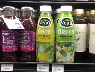 Find These Healthy VEAU Drinks at the Stores - Increase Your WELLNESS