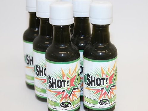 6 Bottles of Veau SHOT - Wellness Drink - (1.5oz each) - Dilutes to more!