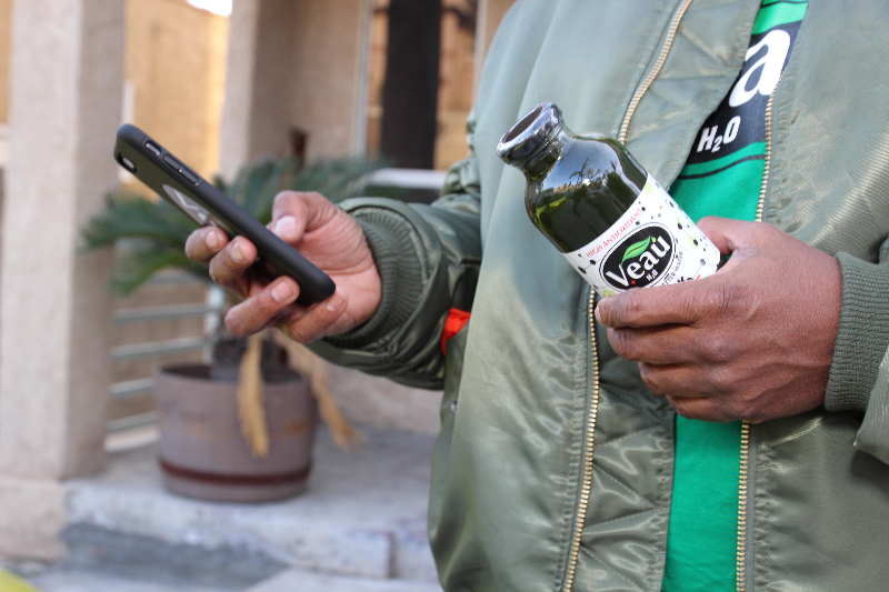 Veau Water on the Go - Healthy Drink