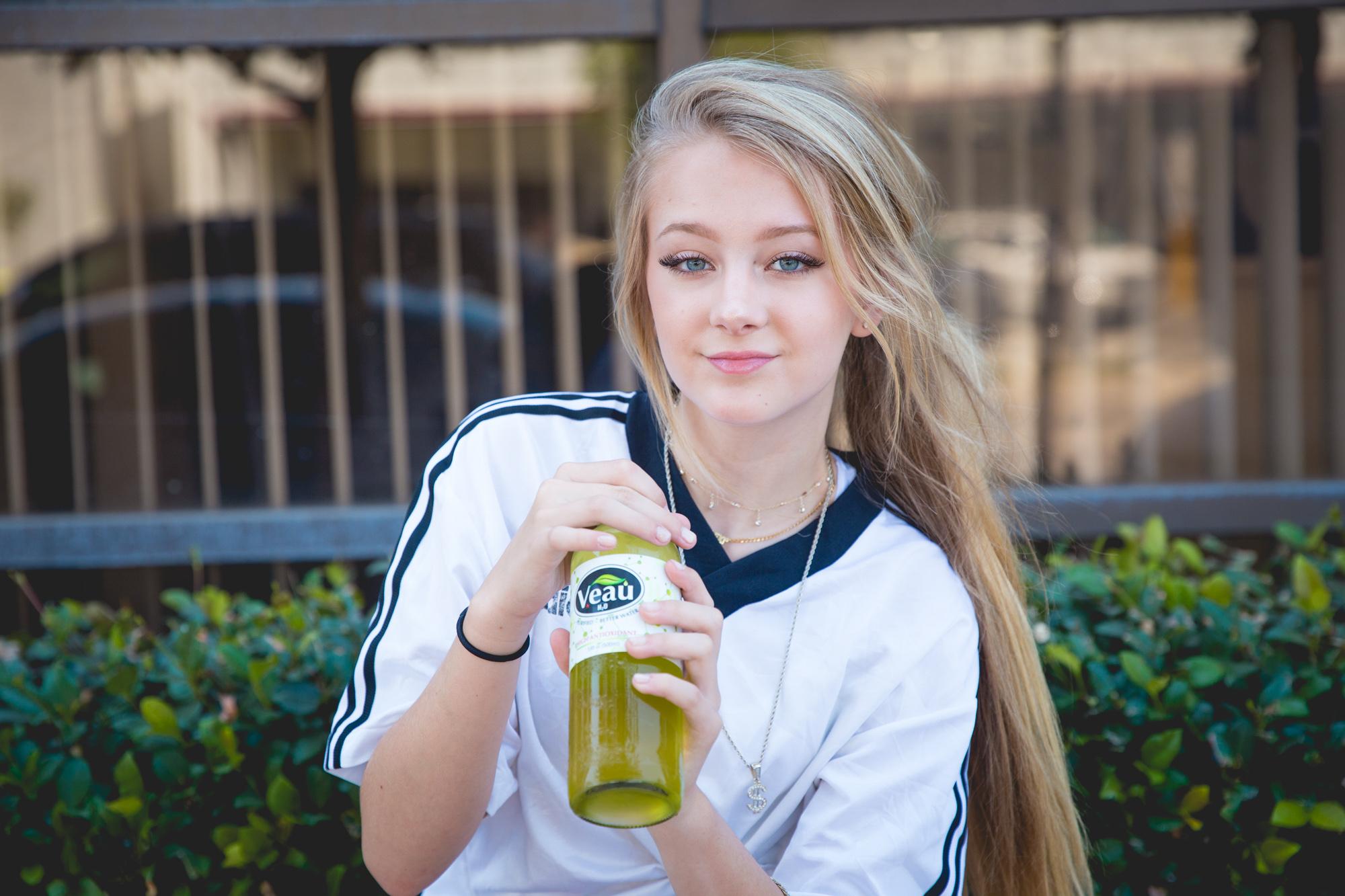 Lexi Drew - Enjoying Veau Water