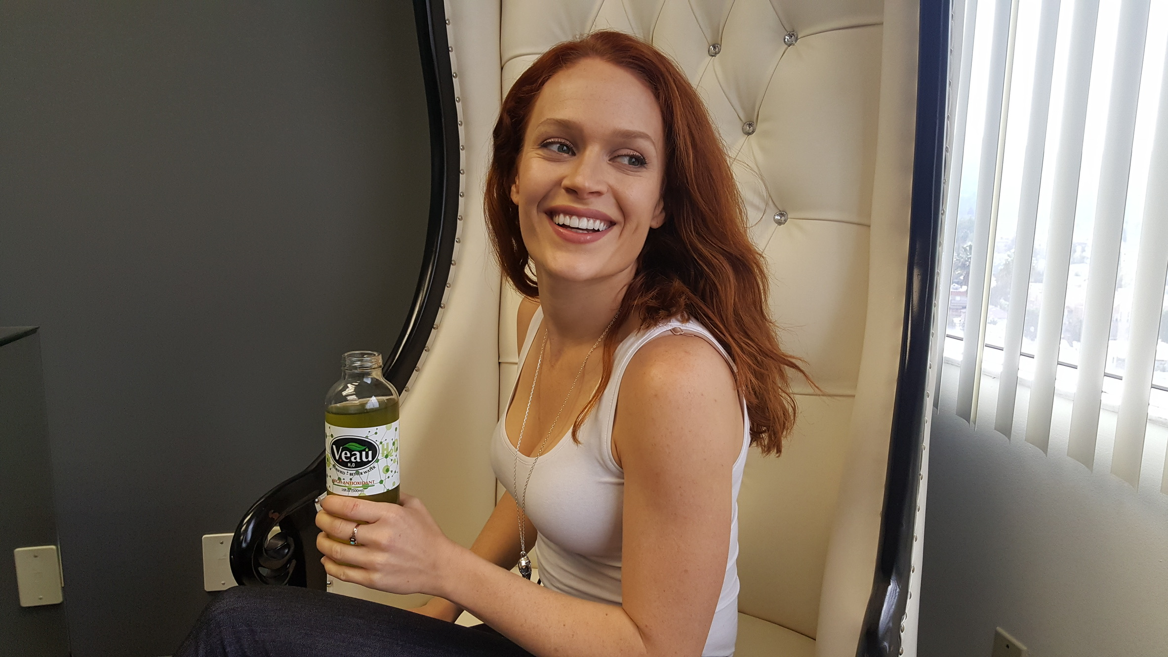 Kate Boyer from Sons of Anarchy, Those Who Kill and Amazing Spiderman 2 - Enjoying Veau Water