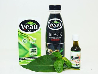 Try VEAU Black and VEAU Shot - the Natural HEALTHY Plant-Based Drinks