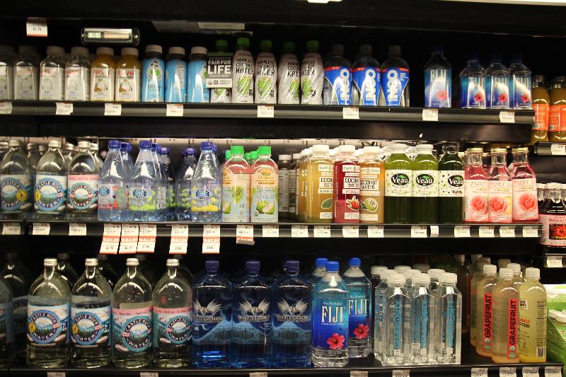 Veau Water on Shelf - Healthy Drinks