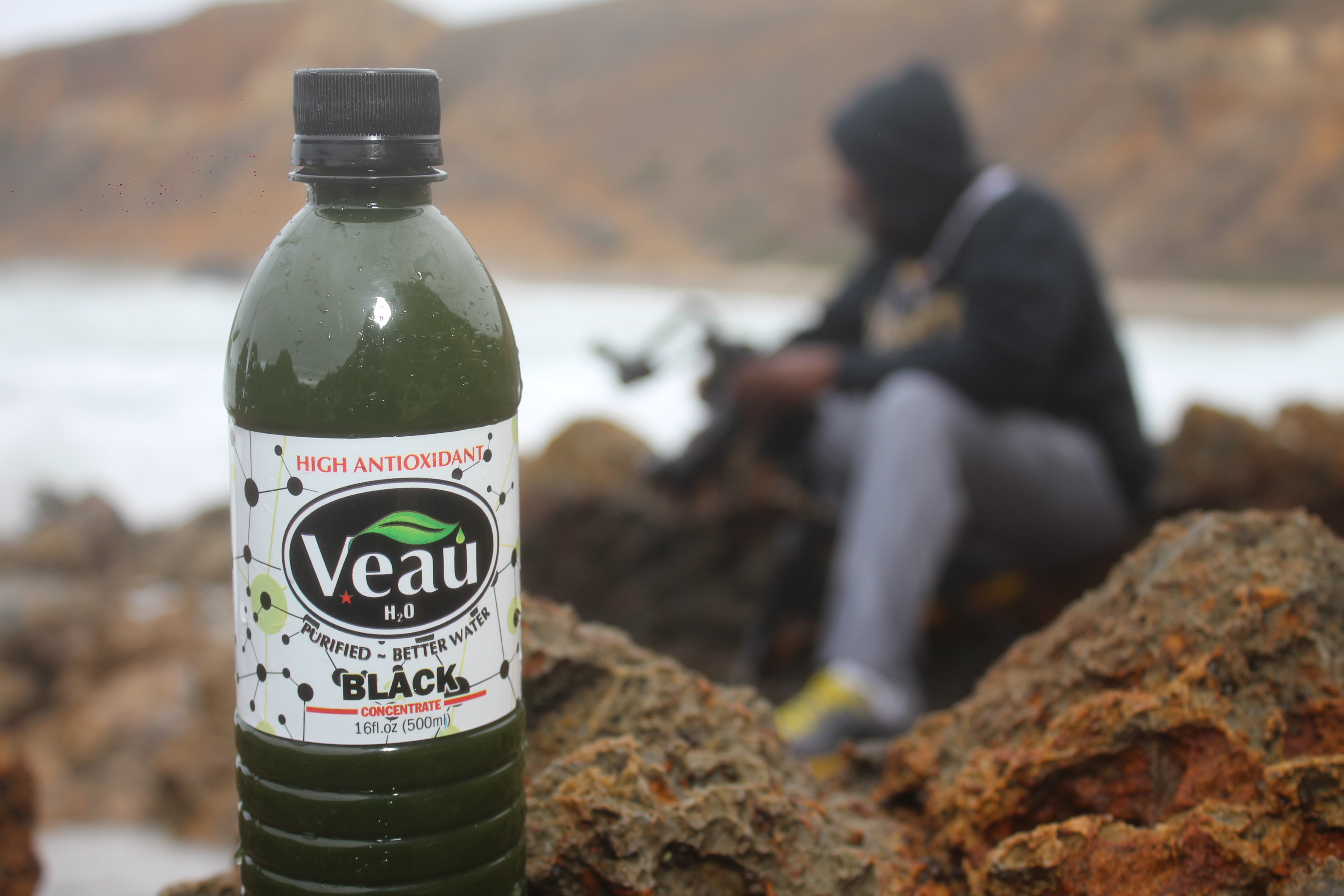 Healthy Veau Water at the Beach