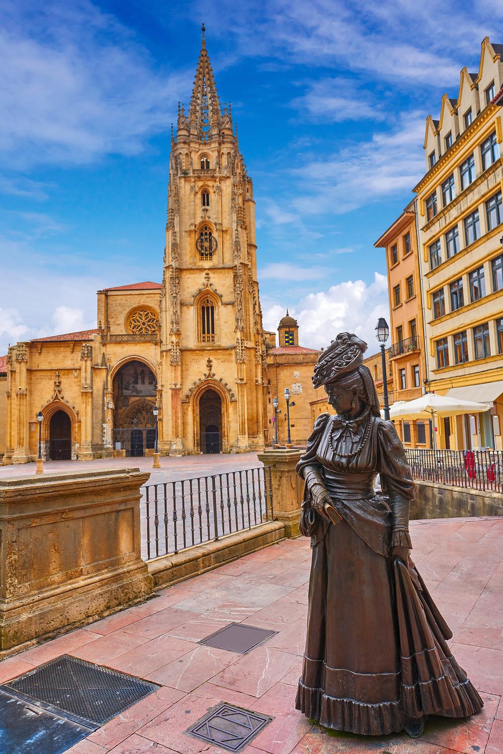 Catedral de Oviedo y la Regenta, Asturias