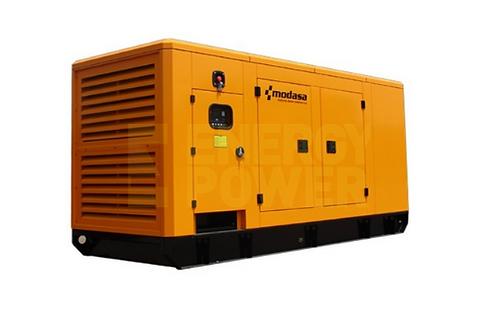 GENERADOR MODASA PERKINS MP-260i CON CABINA - POTENCIA 260 kW 325 KVA