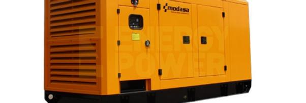 GENERADOR MODASA PERKINS MP-210i CON CABINA - POTENCIA 205 kW 256 KVA