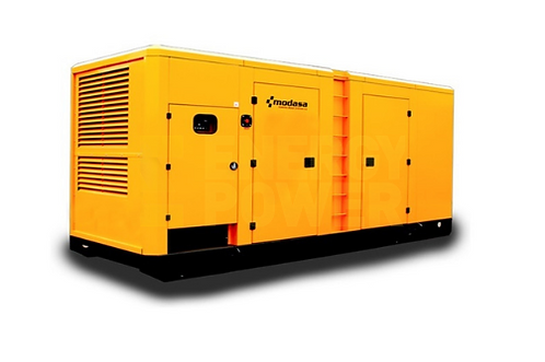 GENERADOR MODASA PERKINS MP-615i CON CABINA - POTENCIA 615 kW 769 KVA