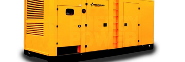 GENERADOR MODASA PERKINS MP-480i CON CABINA - POTENCIA 480 kW 600 KVA