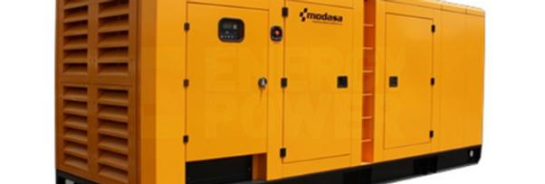 GENERADOR MODASA DOOSAN MD-350i CON CABINA - POTENCIA 350 kW 438 KVA