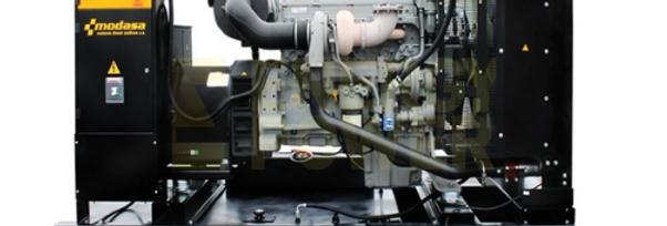GENERADOR MODASA PERKINS MP-400 SIN CABINA - POTENCIA 406 kW 508 KVA