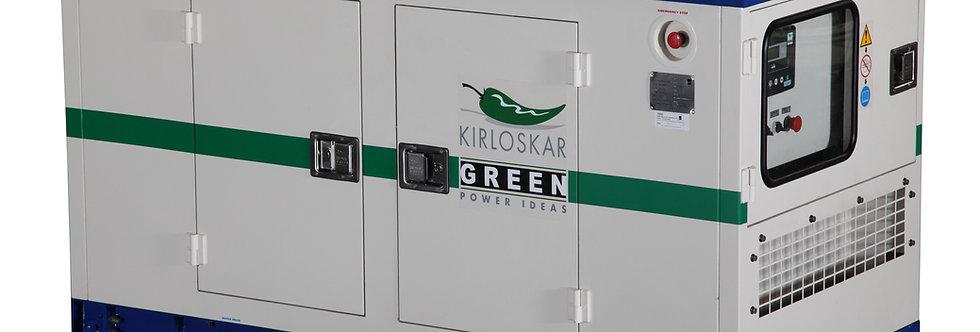 GENERADOR KIRLOSKAR KIRLOSKAR KG35WS CON CABINA - POTENCIA 31 kW 39 KVA