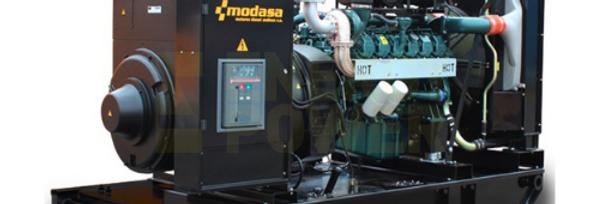 GENERADOR MODASA DOOSAN MD-750 SIN CABINA - POTENCIA 750 kW 938 KVA