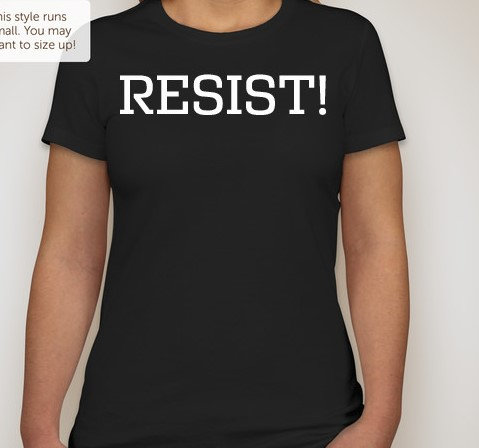 RESIST (Protest T Shirt) Short Sleeve