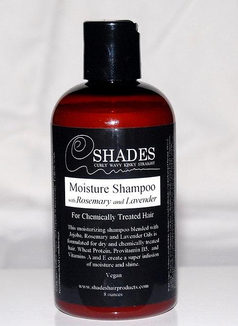 Moisture Shampoo w/Rosemary & Lavender Whls