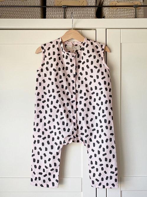 JUDE Pink Spot Print Jumpsuit