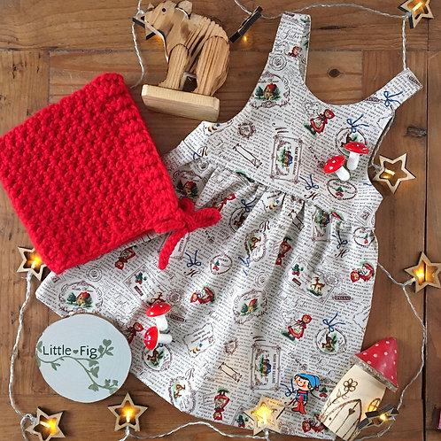 ETHEL Fairytale Print Pinafore Dress