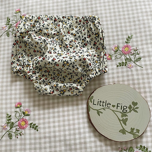 DREW Floral Cotton Bloomers