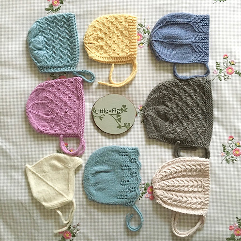 Knitted Bonnets