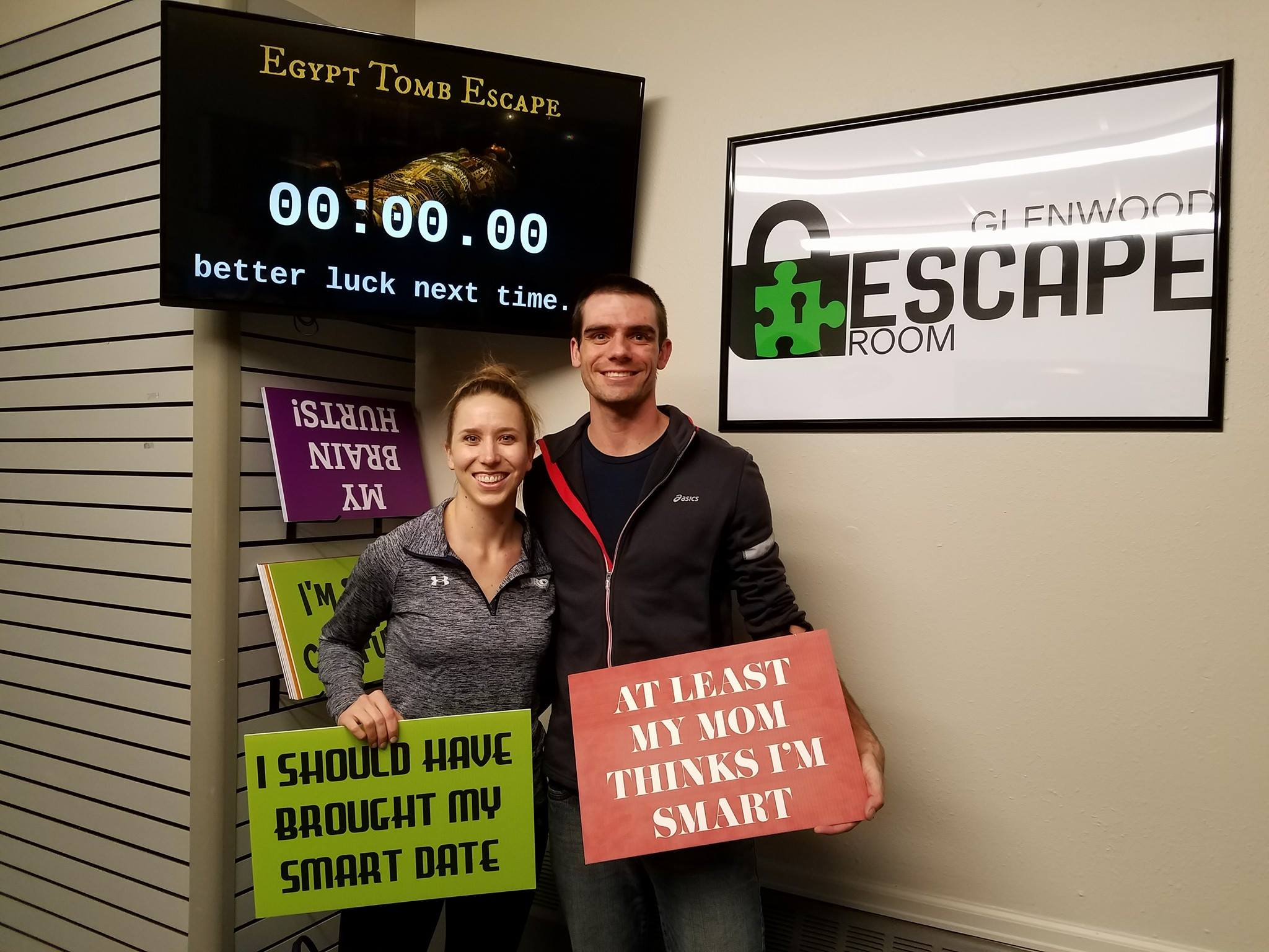 Winners and Losers - Glenwood Escape