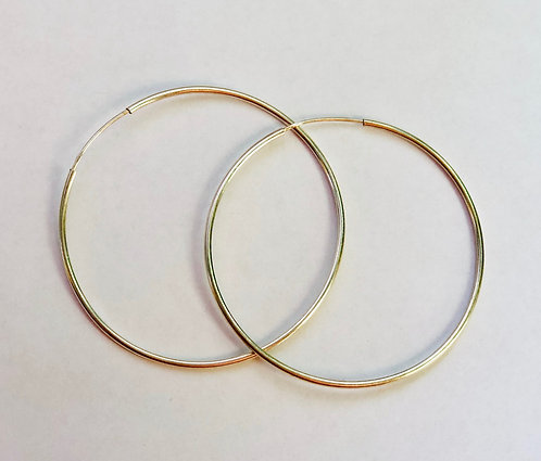 Hoop Earrings- Medium