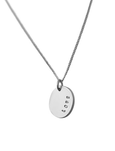 Pebble necklace - Love