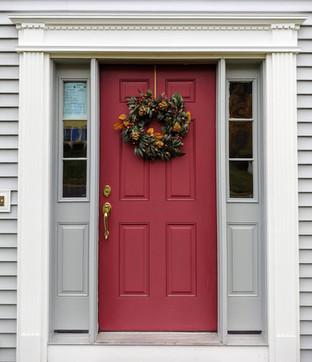 Solid PVC Front Door Trim
