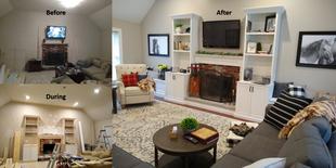 Full Living Room Remodel