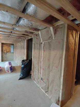 Basement Remodel Framing