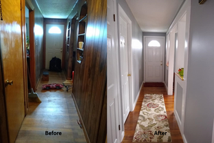 Interior Renovation Of An Outdated Home