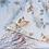 Thumbnail: OCEAN - IZYLINENS Coton percale - La Girafe Bleue et Tessitura Toscana Telerie