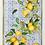 Thumbnail: Torchon SEVILLANA Limone Lin - Tessitura Toscana Telerie et La Girafe Bleue