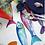 Thumbnail: Nappe POISSON BLEU - Tessitura Toscana Telerie et La Girafe Bleue