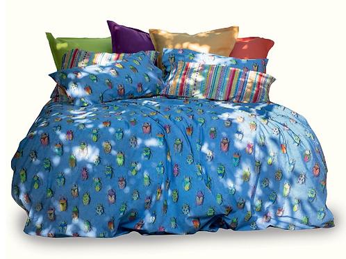 BEETLES - IZYLINENS  Coton percale - La Girafe Bleue & Tessitura Toscana Telerie