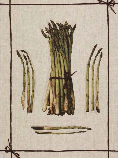 Torchon KM ZERO Asparagus - Tessitura Toscana Telerie et La GirafeBleue