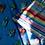 Thumbnail: BEETLES - IZYLINENS  Coton percale - La Girafe Bleue & Tessitura Toscana Telerie