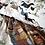 Thumbnail: PASEO -  IZYLINENS - Coton percale- La Girafe Bleue et Tessitura Toscana Telerie