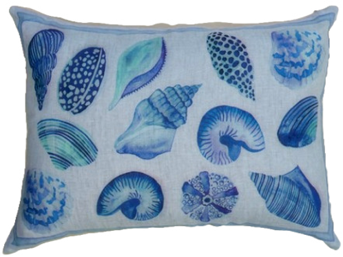 Coussin CYPREA - Lin - 40 x 60 - Tessitura Toscana Telerie et La Girafe Bleue